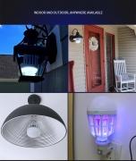 רק 5$ עם הקופון MKiller לנורה שגם קוטלת יתושים כולל המשלוח!! ניתן לשימוש בחוץ ובפנים!!