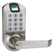"""רק 150$\525 ש""""ח מחיר סופי כולל הכל עד דלת הבית עם הקופוןSNZGGWDI למנעול ביומטרי לדלת מומלץ!! ביקורות מעולות ובחירה ל AMAZON CHOICE!!"""