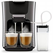"""רק 1130 ש""""ח מחיר סופי כולל הכל עד דלת הבית למכונת קפה מעולה של פיליפס כולל מקציף!!"""