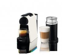 """רק 550 ש""""ח מחיר סופי כולל הכל עד דלת הבית למכונת קפה + מקציף מעולים של נספרסו!! ביקורות מעולות ובחירה כ AMAZON CHOICE!! בארץ המחיר גבוה ביותר מ 200 ש""""ח!!"""