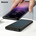 לחטוף!! רק 8.99$ למטען הנייד התומך גם בטעינה אלחוטית המעולה מבית באסאוס Baseus 10000mAh Qi Wireless Charger Power Bank!!