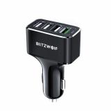 רק 7.99$ עם הקופון BGILDW3 למטען המהיר 4 כניסות העוצמתי לרכב מבית בליצוולף BlitzWolf BW-SD3!!