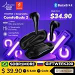 רק 35.9$ עם הקופון GIZCHINAIT3 ללהיט החדש מבית המותג הכי מומלץ ומשתלם בתחום האוזניות – 2 1MORE Comfobuds!!