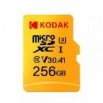 רק 32.99$ לכרטיס הזכרון המעולה Kodak High Speed U3 TF / Micro SD 256GB!! באמזון הוא נמכר ב 61$ לפני המשלוח!!