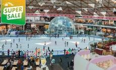 דיל מקומי: כניסה למתחם ההחלקה על הקרח בקניון אייס מול אילת, כולל השכרת נעליים ב-49 ₪ במקום 76 ₪!!