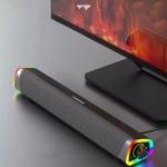 רק 26.99$ עם הקופון הבלעדי BGsmartbuy43 לסאונד בר למחשב עם תאורת RGB מבית לנובו Lenovo L101!!