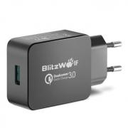 רק 6.99$!! למטען המעולה של BlitzWolf התומך בטעינה מהירה QC 3.0!!