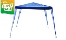"""דיל מקומי: גזיבו בגודל 3×3 מטר, עמיד בתנאי חוץ ומגיע ב-2 צבעים לבחירה ב-99 ש""""ח!!"""