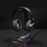 רק 16.99$ עם הקופון BGFANIL17 לסטנד אוזניות עם תאורת RGB מעוצב FANTECH AC3001S!!