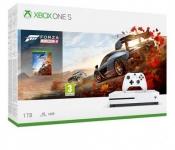 """דיל מקומי: רק 979 ש""""ח לקונסולה Microsoft Xbox One S 1TB הכוללת משחק Forza Horizon 4 אחריות היבואן הרשמי!!"""