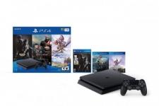 """רק 330$\1150 ש""""ח מחיר סופי כולל הכל עד דלת הבית לבאנדל של PlayStation 4 Slim 1TB + שלושה משחקים!!"""