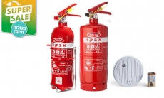 דיל מקומי: מחיר מיוחד לזמן מוגבל: מטף אבקה לכיבוי אש בבית וברכב יכול להציל חיים, החל מ-99.90 ₪ כולל תושבת לתלייה ומשלוח חינם!!