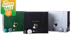 """דיל מקומי: מחיר מיוחד לזמן מוגבל: 300 קפסולות קפה Time Capsules תואמות למכונת נספרסו, 3 טעמים לבחירה ב-199.90 ש""""ח!!"""