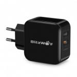 רק 8.29$ עם הקופון 8BWS6 למטען המהיר 2 כניסות הסופר מומלץ BlitzWolf BW-S6 התומך בכל השיטות של טעינה מהירה!!