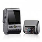 """רק 147$\500 ש""""ח מחיר סופי כולל המשלוח וביטוח המס עם הקופון BG40339 למצלמת הרכב הדואלית המדהימה בגרסה החדשה והמשודרגת VIOFO A129 IR Duo!! מצלמת הרכב הדואלית (מצלמת קדימה ואחורה) הטובה והמשתלמת ביותר כיום בגרסה הכוללת GPS!!"""