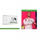 """רק 291 יורו\1120 ש""""ח מחיר סופי כולל הכל עד דלת הבית לבאנדל של Xbox One S 1TB + שני שלטים + FIFA 20!!"""