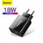 רק 4.68$ למטען מהיר איכותי מבית באסאוס Baseus 18W Quick Charge 3.0!!