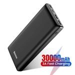 רק 21.99$ עם הקופון NT3MG2WH8U67 לסוללה הניידת הענקית מבית באסאוס Baseus 30000mAh!!