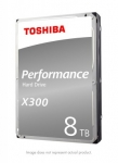 """רק 199$\715 ש""""ח מחיר סופי כולל הכל עד דלת הבית לכונן פנימי מהיר לגיימרים למחשב נייח Toshiba X300 8TB!! בארץ המחיר שלו 1200 ש""""ח!!"""