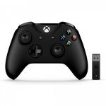 """רק 61.99$\220 ש""""ח לשלט לאקס בוקס + מתאם אלחוטי למחשב Microsoft Xbox!! בארץ הבאנדל הזה יעלה לכם 380 ש""""ח!!"""