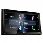 """רק 725 ש""""ח מחיר סופי כולל הכל עד דלת הבית למערכת המולטימדיה דאבל דיל לרכב המעולה JVC KW-V320BT!! בארץ המחיר שלה 2700 ש""""ח!!"""
