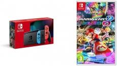 """רק 333 פאונד\1470 ש""""ח מחיר סופי כולל הכל עד דלת הבית לקונסולת משחק Nintendo Switch כולל המשחק Mario Kart 8 Deluxe נינטנדו!!"""