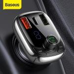 רק 8.59$ עם הקופון RUFM06 למטען לרכב הכולל דיבורית, משדר FM, בלוטוס ותמיכה בטעינה מהירה QC4.0 מבית באסוס Baseus!!