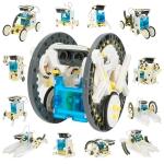 רק 12.99$ עם הקופון BGa25ad3 לקיט רובוט הרכבה סולרי לילדים – 13 דגמים להרכבה!!