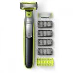 """רק 39.95$\130 ש""""ח (משלוח חינם בהגעה לסכום כולל של 49$ ומעלה) למכונת הגילוח לפנים, לשיער ולגוף הנהדרת Philips Norelco OneBlade QP263070!!"""
