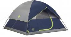 """רק 111$\360 ש""""ח מחיר סופי כולל הכל עד דלת הבית לאוהל ל 4 אנשים הנהדר מבית קולמן Coleman Sundome Tent!!"""