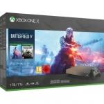 """רק 422 פאונד\2060 ש""""ח מחיר סופי כולל הכל עד דלת הבית לבאדנל אש ל Xbox One X 1TB + שלושה משחקים!!"""