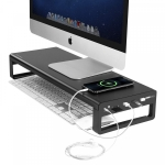 רק 49.99$ עם הקופון BGILZG603 למעמד למסך המחשב עם שלל חיבורים שיעשה לכם סדר בשולחן העבודה!!