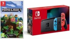 """רק 312 פאונד\1370 ש""""ח מחיר סופי כולל הכל עד דלת הבית לקונסולת משחק Nintendo Switch כולל המשחק Minecraft!!"""