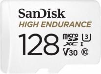 """רק 100 ש""""ח מחיר סופי כולל הכל עד דלת הבית לכרטיס הזכרון העמיד הייעודי למצלמות הרכב והאבטחה החדש מבית סאנדיסק SanDisk 128GB High Endurance!!"""