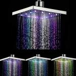 רק 14.99$ עם הקופון BG5a9b96 לראש מקלחת 6 אינץ מתכוונן 360 מעלות עם תאורת לד צבעונית!!