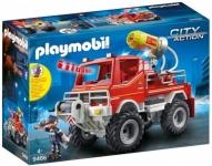 """רק 15.95$\54 ש""""ח (משלוח חינם בהגעה לסכום כולל של 49$ ומעלה) למשאית כיבוי אש אורות וסאונד פליימוביל PLAYMOBIL Fire Truck!! בארץ המחיר שלה 225 ש""""ח!!"""