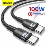 החל מ 1.99$ לכבלי טעינה מהירים מבית באסאוס Baseus 60W – 100W היכולים להטעין גם לפטופים!!