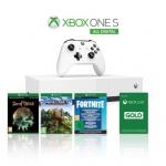 """רק 740 ש""""ח מחיר סופי כולל הכל עד דלת הבית לבאנדל של Xbox One S 1TB ו 3 משחקים כולל אחריות בינלאומית!!"""
