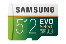 """רק 76$\240 ש""""ח מחיר סופי כולל הכל עד דלת בית לכרטיס הזכרון המעולה Samsung 512GB MicroSDXC EVO Select!!"""
