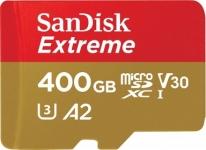 """רק 72.79$\250 ש""""ח מחיר סופי כולל הכל עד דלת הבית לכרטיס הזכרון העמיד הנהדר SanDisk 400GB Extreme microSD!! בארץ המחיר שלו 540 ש""""ח!!"""