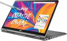 """רק 4860 ש""""ח מחיר סופי כולל הכל עד דלת הבית ללפטופ עם מסך הטאץ+עט קל המשקל ובעל הסוללה האדירה הנהדר LG Gram 14T990-U.AAS8U1!!"""