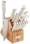 """רק 57.99$\195 ש""""ח מחיר סופי כולל הכל עד דלת הבית לסט סכינים 15 חלקים איכותי Cuisinart C77WTR-15P!!"""
