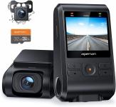 """רק 57$\195 ש""""ח מחיר סופי כולל הכל עד דלת הבית למצלמת הרכב הכפולה לרכב הנהדרת APEMAN Dash Cam + כרטיס זכרון 32GB במתנה!!"""