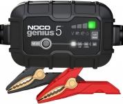 """רק 82$\280 ש""""ח מחיר סופי כולל הכל עד דלת הבית למטען מצברים לרכב Noco Genius 5 Battery Charger!! בארץ המחיר שלו 580 ש""""ח!!"""