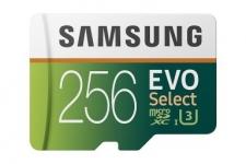 """רק 40$\140 ש""""ח מחיר סופי כולל הכל עד דלת בית לכרטיס הזכרון המעולה Samsung 256GB MicroSDXC EVO Select!! בארץ המקביל שלו עולה 528 ש""""ח!!"""