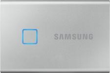 """רק 369$\1200 ש""""ח מחיר סופי כולל הכל עד דלת הבית לכונן SSD נייד Samsung T7 Touch בנפח 2TB סמסונג!! בארץ המחיר שלו מתחיל ב 1910 ש""""ח!!"""