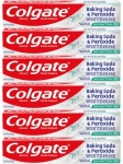 """רק 7.5$\25 ש""""ח (משלוח חינם בהגעה לסכום כולל של 49$ ומעלה) ל 6 יחידות של משחת שיניים מלבינה מבית קולגייט Colgate Baking Soda and Peroxide Whitening Toothpaste!!"""