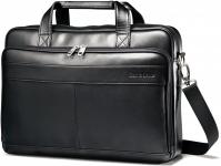 """רק 66.4$\220 ש""""ח מחיר סופי כולל הכל עד דלת הבית לתיק צד עסקי מעור מבית סמסונייט Samsonite Expandable Briefcase!!"""