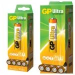 """דיל מקומי: רק 80 ש""""ח ל 80 סוללות AA או AAA לא נטענות Ultra Alkaline של חברת GP!!"""