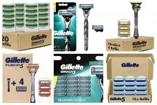 החל מ 9$ (משלוח חינם בהגעה לסכום כולל של 49$ ומעלה) לסכיני גילוח (סטים של ידית + סכינים, סכינים להחלפה ועוד) של ג'ילט Gillette!!